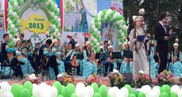 Sabantui took place in Semei