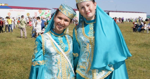 IV All-Russia village Sabantui took place in a village Barda of Permsky krai