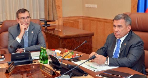 Татарстан Президенты журналистлар сорауларына җавап бирде