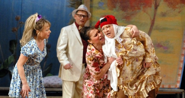 Naberezhny Chelny Tatar drama theater came to Ufa