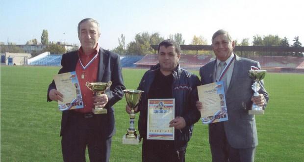 Волгоградские аксакалы приняли участие в спартакиаде для пожилых