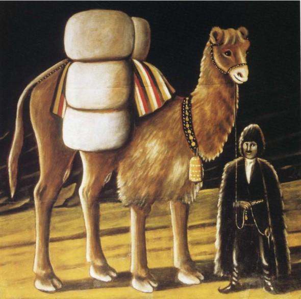 Татарский погонщик верблюдов