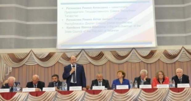 "Employees of the WCT Executive Committee took part in a forum ""Preservation and development of languages and cultures"""