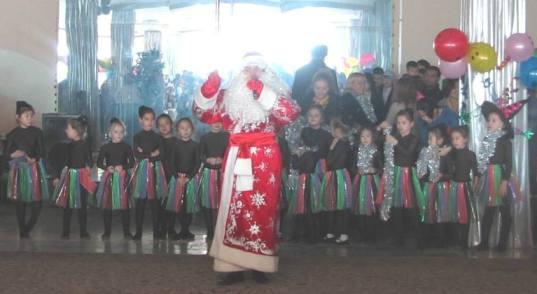 Детская Ёлка в канун Нового 2014 года в Ташкенте