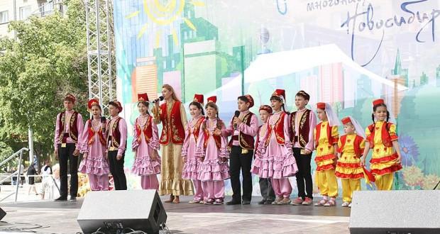 Новосибирскиның татар балалары ансамбле диплом яулады