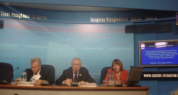 Татарстанның Дәүләт советында журналистларга телләрне саклау программасы турында сөйләделәр