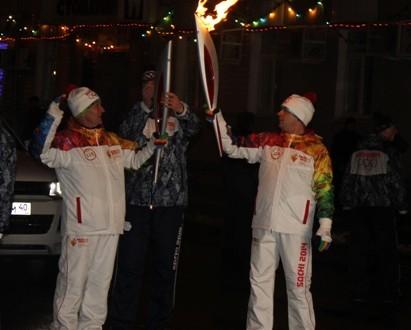 «Я был на эстафете Олимпийского огня!»