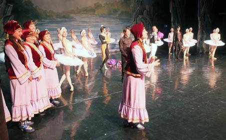 Бельгийцы увидели «Лебединое озеро» в постановке Татарского театра оперы и балета