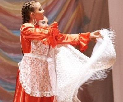Competition of Tatar beauties in Izhevsk city