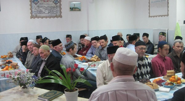 In Kazan, in madrasa named after a 1000th anniversary of adoption of Islam a master class on Maulid was held
