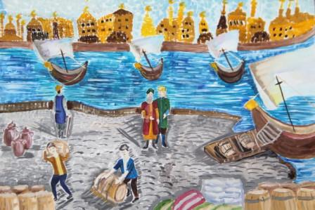 """The outcome of the All-Russia competition of drawings """"Tarikh ezlyarennen""""(In the Footsteps of History)"""