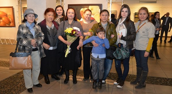 In Almaty, the personal exhibition of Tatar artist Azat Tabiev was held