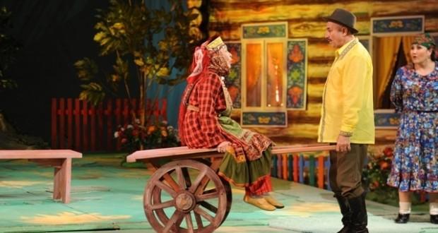 В Уфимском татарском театре «Нур» прошла премьера спектакля «Зятья Гергери» по пьесе Туфана Миннуллина