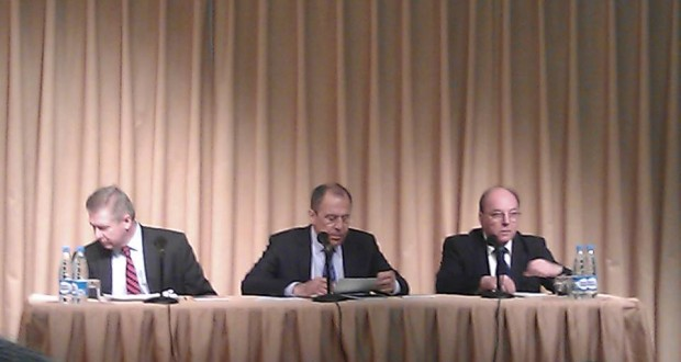 РФ ның тышкы эшләр министры С.В.Лавров белән очрашу…