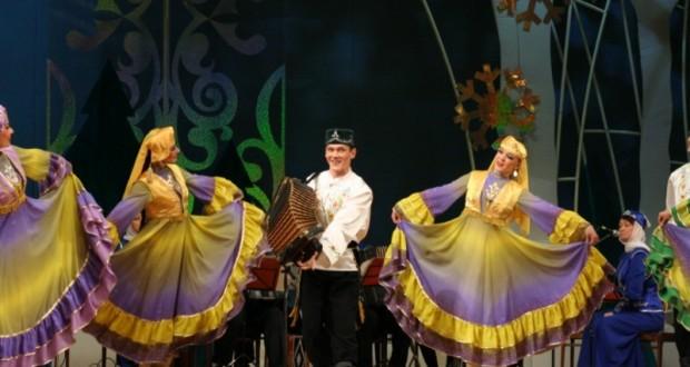 Фольклорный фестиваль в Тюмени