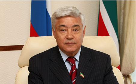 1 май — Яз һәм Хезмәт бәйрәме уңаеннан, Татарстан парламенты башлыгы республика халкын котлый