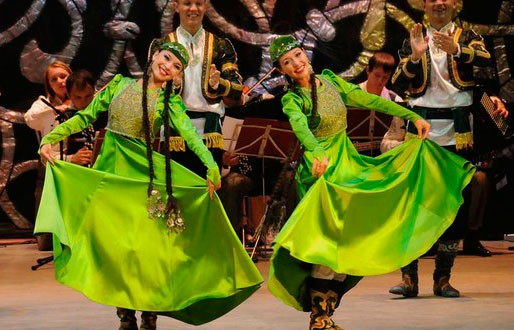 Sabantui touring of the State Song and Dance Ensemble of Tatarstan