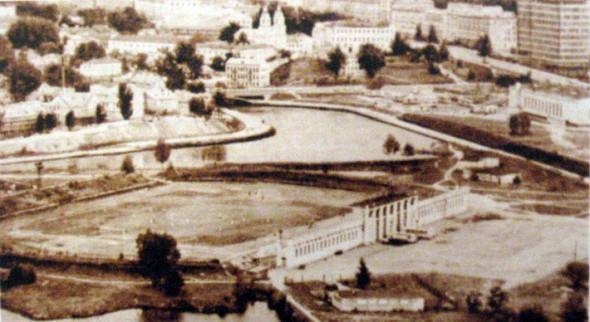 Стадион «Трудовые резервы». 1960-70 гг.