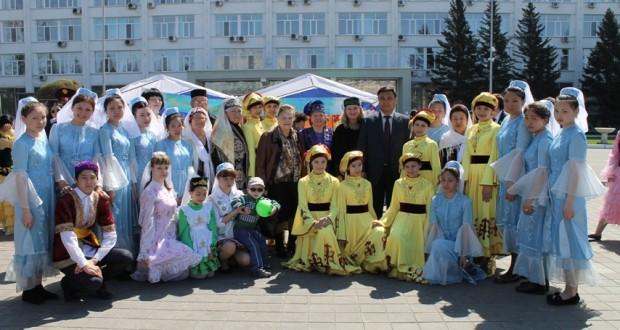 В Семее отметили День единения народов Казахстана