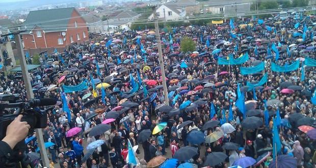 Кырым татарлары депортацияләнгәнгә 70 ел.