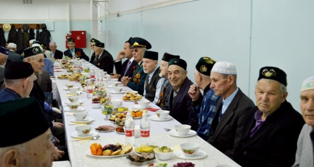 In Samara mosque veterans honored