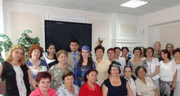 Кырымда татар хатын-кызлары оешмасы бүлеге оештырылды