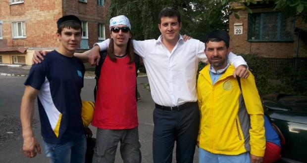Участники Марша Мира и Согласия прибыли в Украину
