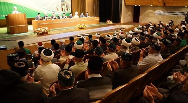 Пленарное заседание V Всероссийского форума татарских религиозных деятелей
