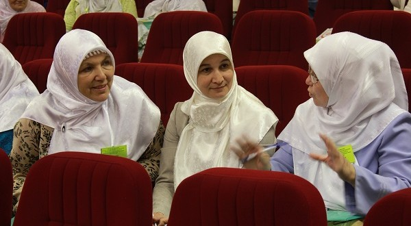 Muslim women from all over Tatarstan gathered in Kazan