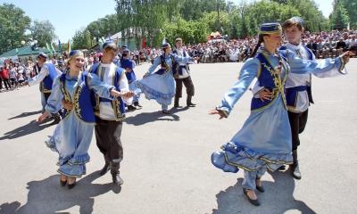 Татары Мордовии отметили Сабантуй