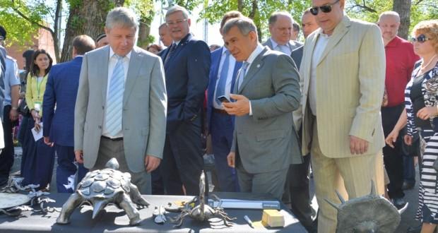 Рустам Минниханов принял участие в федеральном Сабантуе