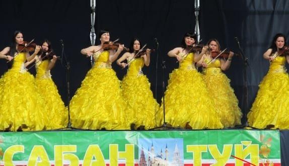 Поволжские татары, проживающие в Крыму, провели в Симферополе Сабантуй
