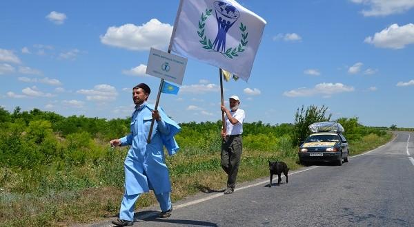 Марш Мира и Согласия подвел итоги своего пребывания на Украине