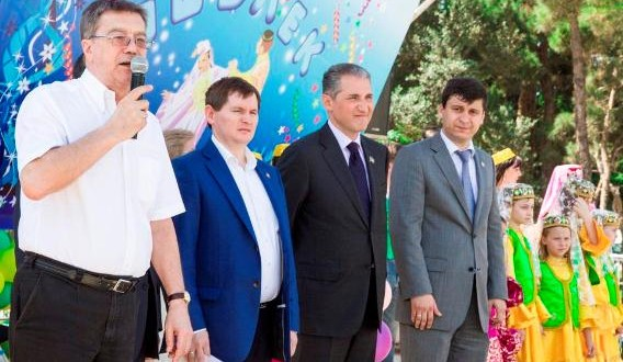Tatar Diaspora of Azerbaijan thanked POZIS for Sabantui