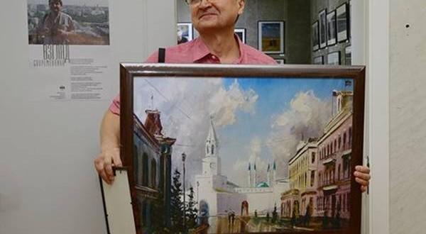 Фотохудожнику Альберту Багаутдинову вручено Благодарственное письмо Полномочного представительства Татарстана