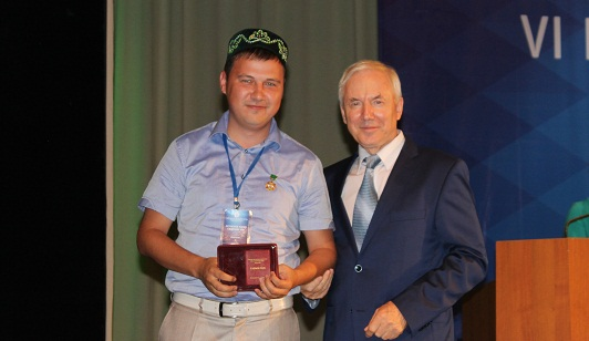 Джалиля Ахунжанова из Семея наградили медалью «За заслуги перед татарским народом»