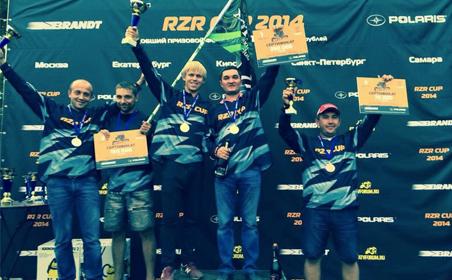 Ирек Миннахметов стал победителем 4-го этапа RZR CUP 2014