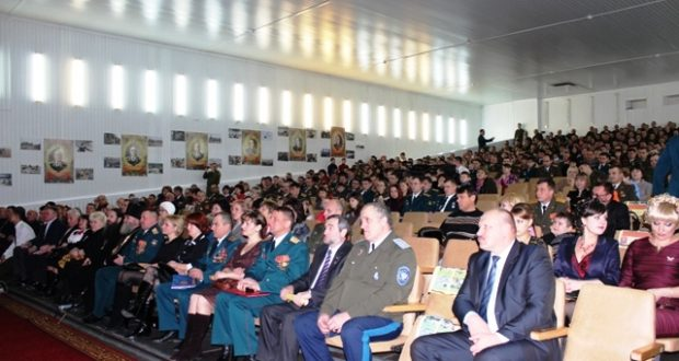 Актовый зал ВЧ-12128 в Тоцке