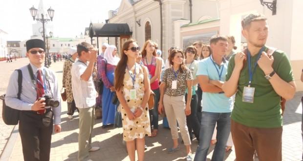 Делегаты и гости форума ознакомились с Казанью