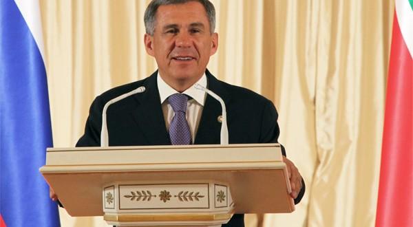 Татарстан Республикасы Президенты Р.Н. Миңнехановның Республика көне уңаеннан мөрәҗәгате