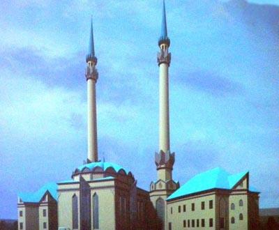 В Тобольске заложили фундамент новой мечети.