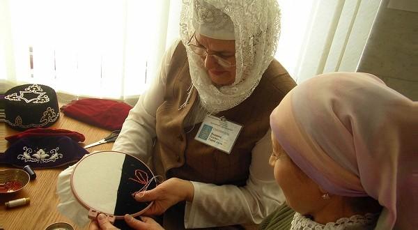В Казани пройдет мастер-класс по татарской вышивке