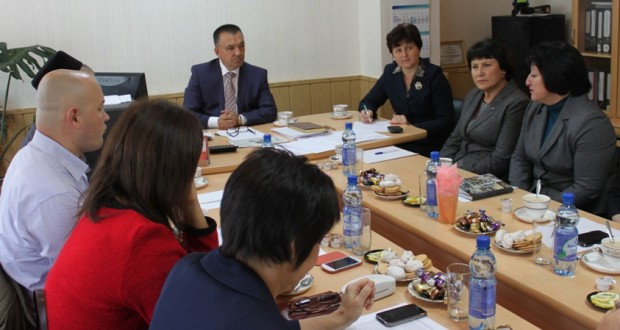 Meeting of the Bureau of Almetyevsky Branch of executive committee of the World Congress of Tatars