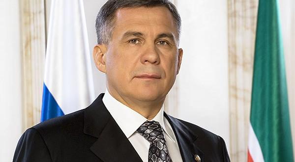 Поздравление Президента Республики Татарстан Рустама Минниханова с Новым годом