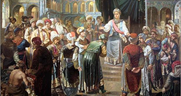 рәссам Ильяс Фәйзуллин әсәре