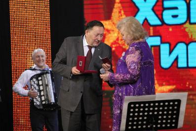 Хәмдүнә Тимергалиеваның юбилей концерты булды