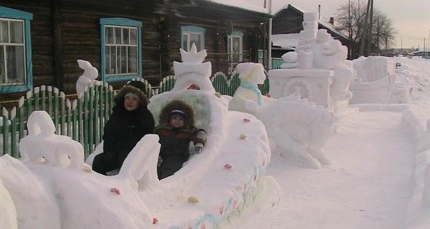 Снежная сказка сибиряка