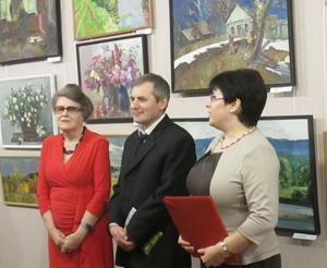 Выставка картин Хафиза Бикбаева