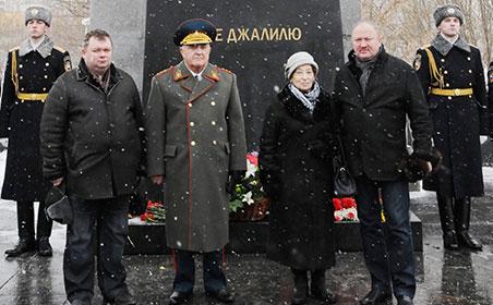 Мәскәүдә герой-шагыйрь Муса Җәлилне искә алдылар