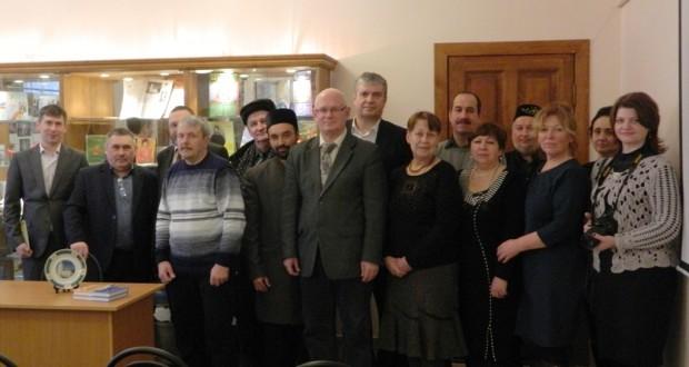 В Касимове состоялась презентация книги А.Черемина